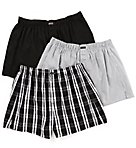 Classic 100% Cotton Woven Boxer - 3 Pack