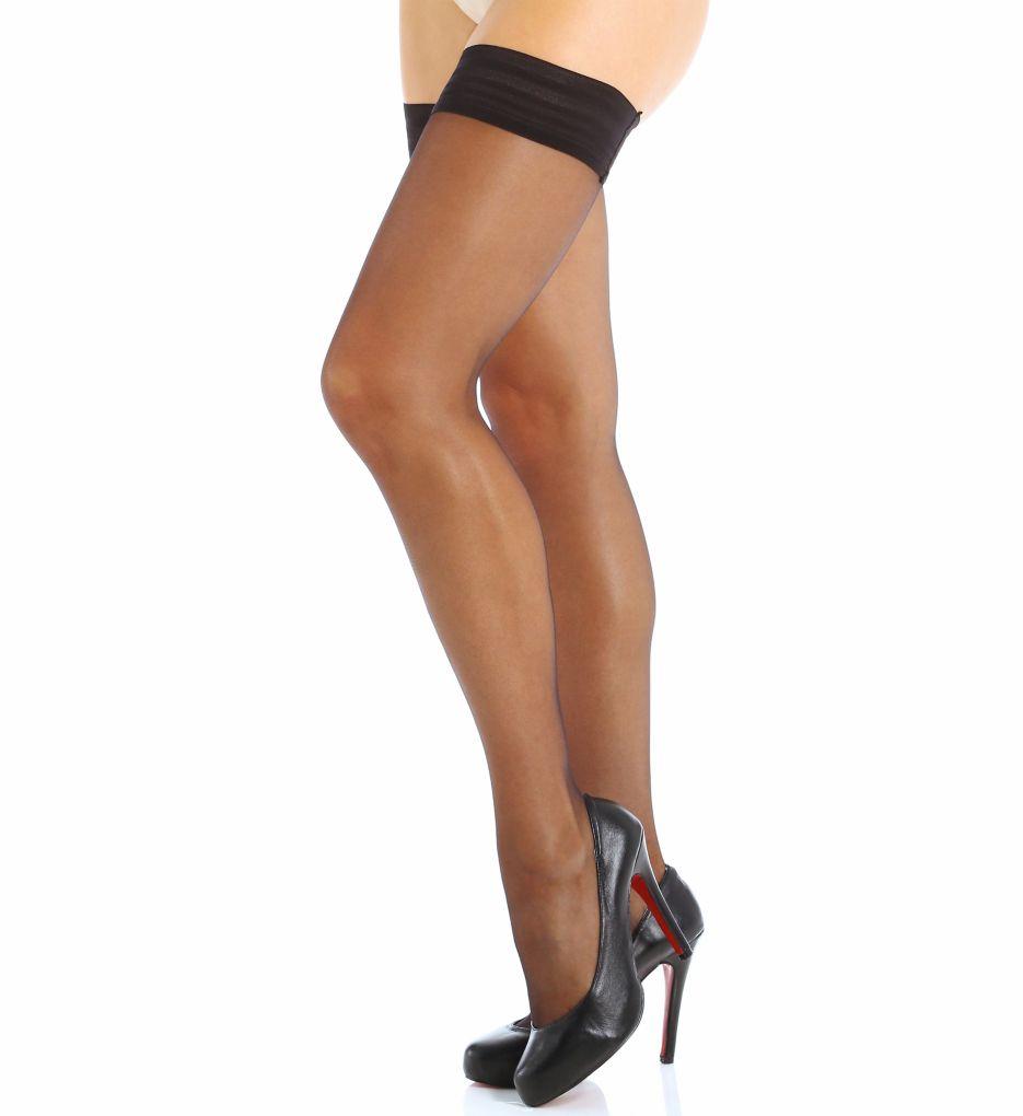 Calvin Klein Sheer Thigh High Pantyhose