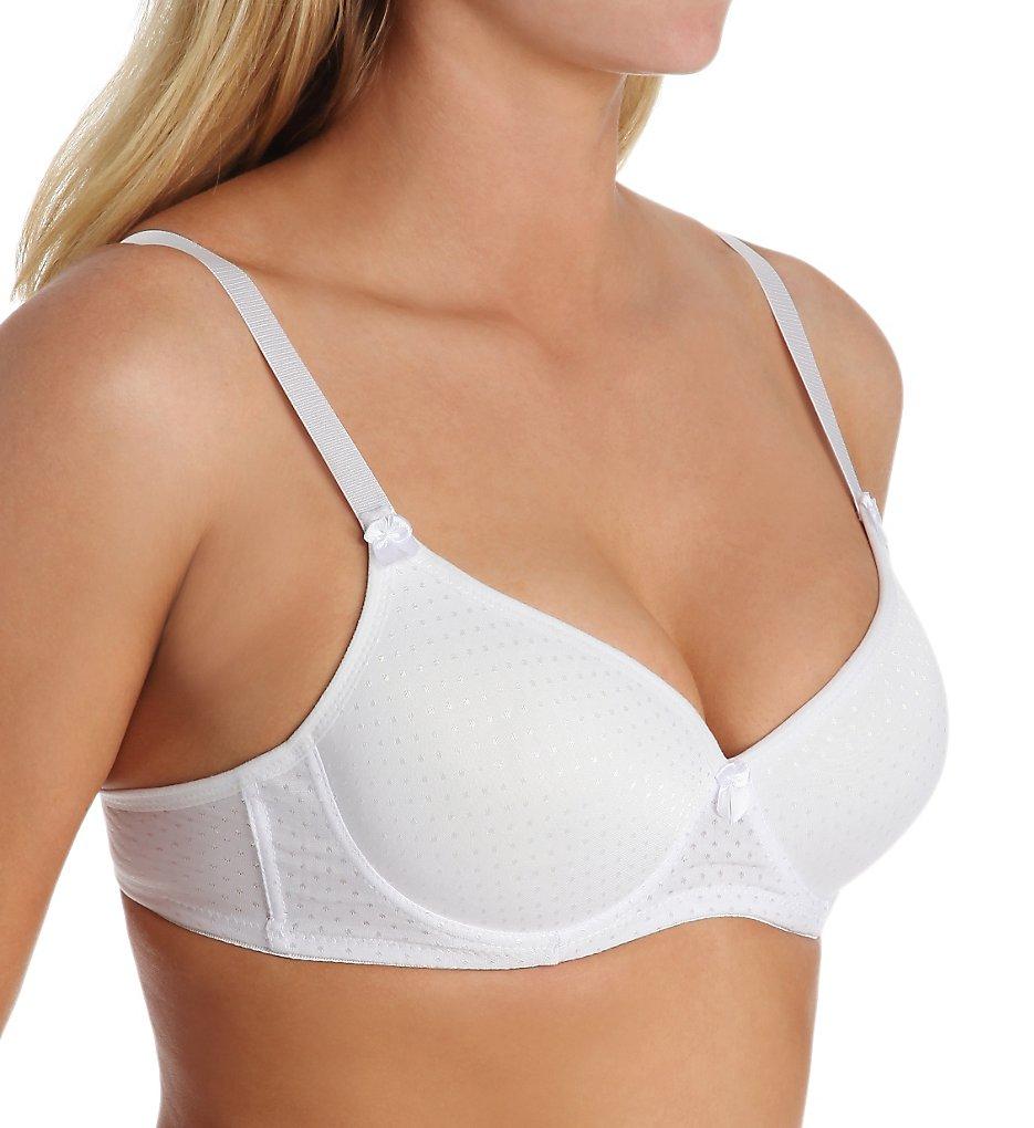 Carnival 503 Seamless Full Coverage T-Shirt Bra (White)