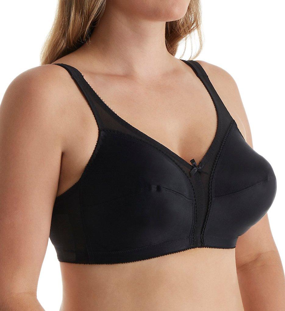 Carnival 620 Camisole Shoulder Soft Cup Bra (Black)