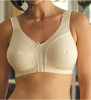 Carnival Full Figure Cotton Lined Soft Cup Bra