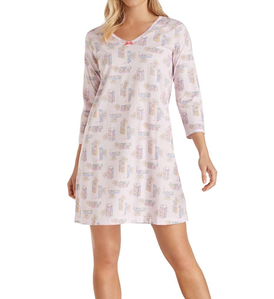 Carole Hochman Knit 3/4 Sleeve Sleepshirt