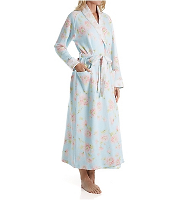 Carole Hochman Mums Diamond Quilt Long Robe