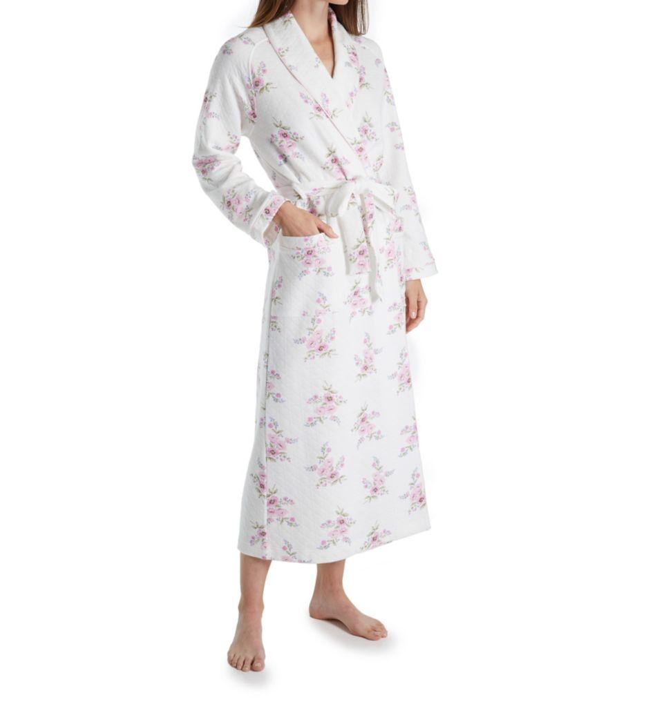 Carole Hochman Petal Diamond Quilt Robe