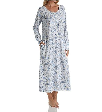 Carole Hochman Bird Toile Long Gown