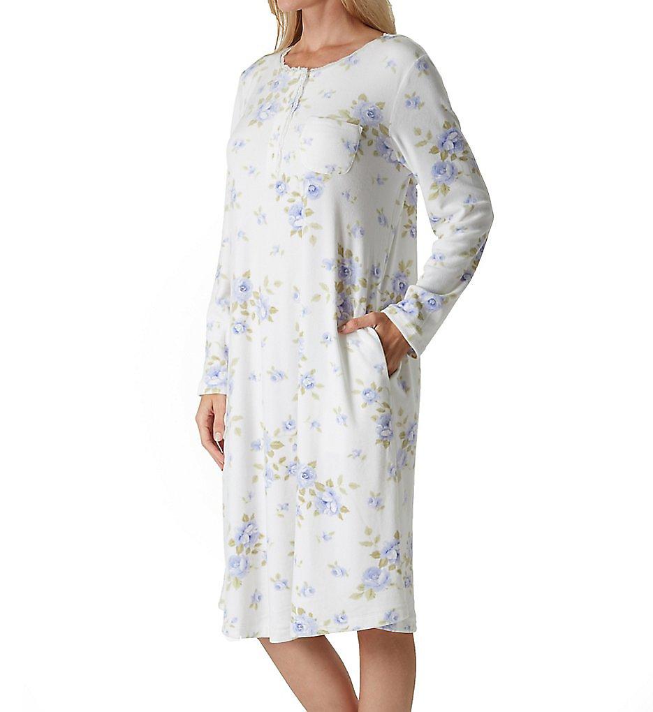 Carole Hochman Cozy Fleece Luxe Long Sleeve Waltz Gown 1871464 ...
