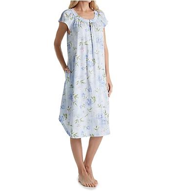Carole Hochman Blooming Flutter Sleeve Gown