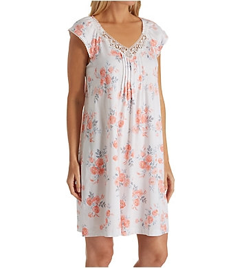 Carole Hochman Watercolor Buds Sleepshirt