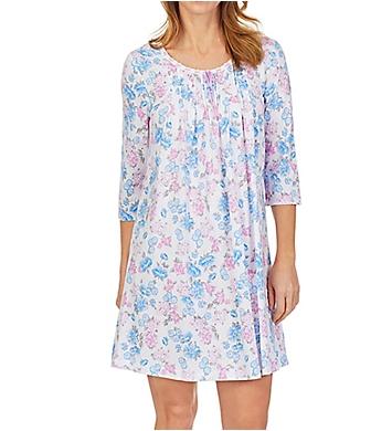 Carole Hochman 100% Cotton Short Gown