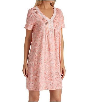 Carole Hochman Water Paisley Sleepshirt