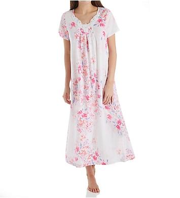 Carole Hochman Modern Floral Long Gown