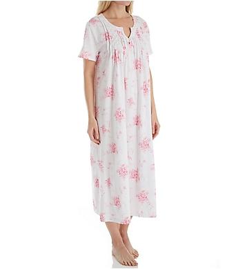 Carole Hochman Bouquet Short Sleeve Long Gown