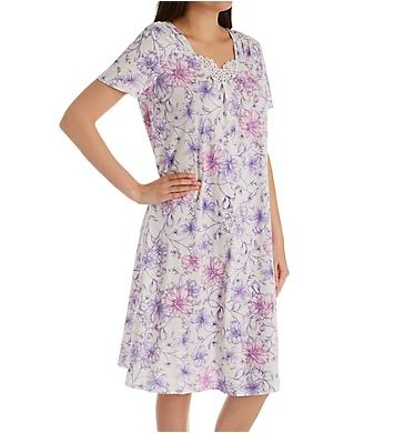 Carole Hochman Watercolor Floral Waltz Long Gown
