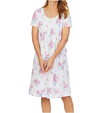 Carole Hochman 100% Cotton Short Sleeve Waltz Gown