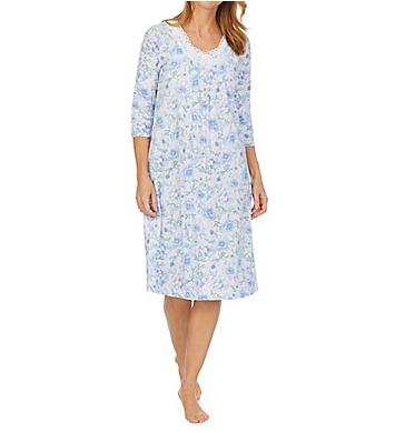 Carole Hochman 100% Cotton 3/4 Sleeve Waltz Gown
