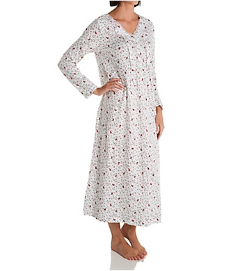 Carole Hochman Cotton Long Gown