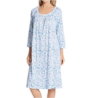 Carole Hochman 100% Cotton 3/4 Sleeve Waltz Nightgown