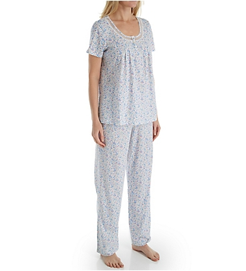 Carole Hochman Darling Ditsy Long PJ Set