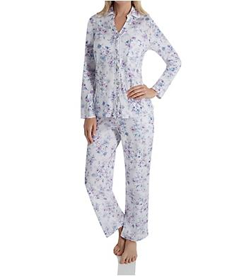 Carole Hochman Long Sleeve & Long Pant PJ Set