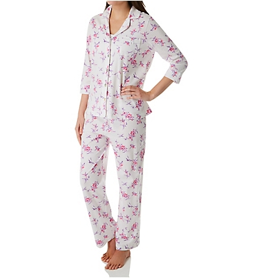 Carole Hochman Watercolor Floral PJ Set