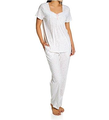 Carole Hochman 100% Cotton Short Sleeve PJ Set