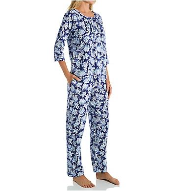 Carole Hochman 100% Cotton PJ Set