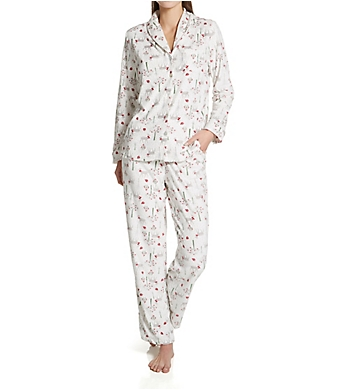 Carole Hochman Baby Fleece Long Sleeve Pajama Set