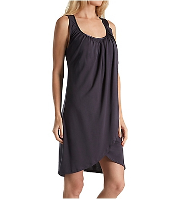 Carole Hochman Midnight Bouquet Cross-over Chemise