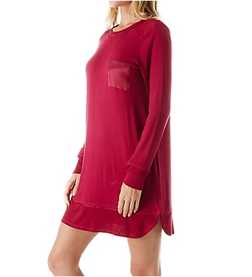Carole Hochman Midnight In the Moment Long Sleeve Sleepshirt