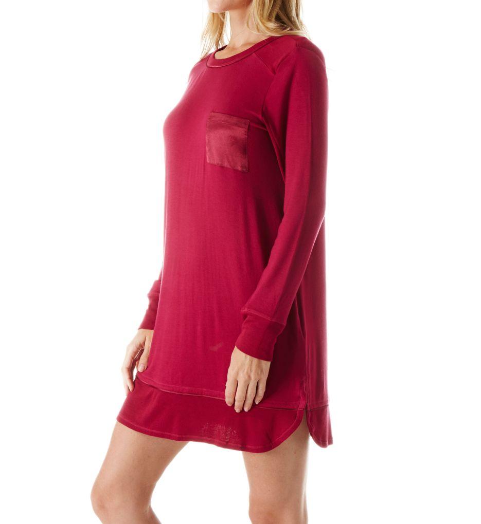 Carole Hochman Midnight In the Moment Long Sleeve Sleepshirt