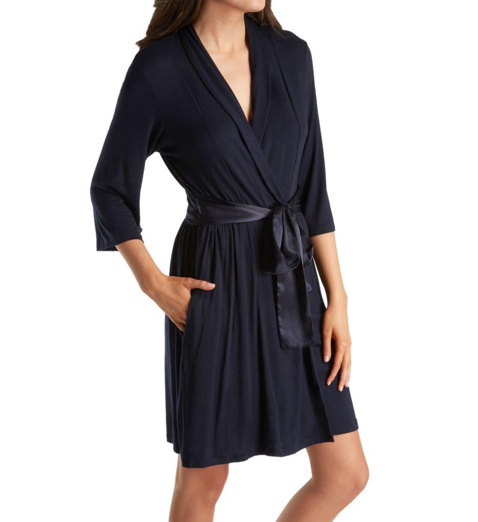 Carole Hochman Midnight Simple Slumber Short Robe