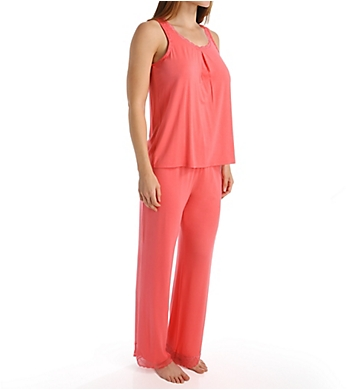 Carole Hochman Midnight Poppy Sleeveless Pajama Set