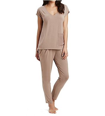 Carole Hochman Midnight Midnights Long PJ Set