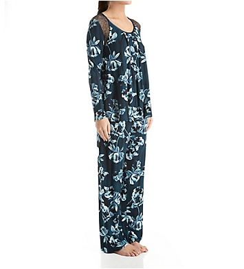 Carole Hochman Midnight Midnight Storm Long Sleeve Pajama Set