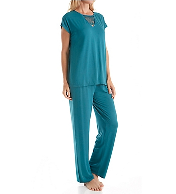 Carole Hochman Midnight Spring Fever Long PJ Set