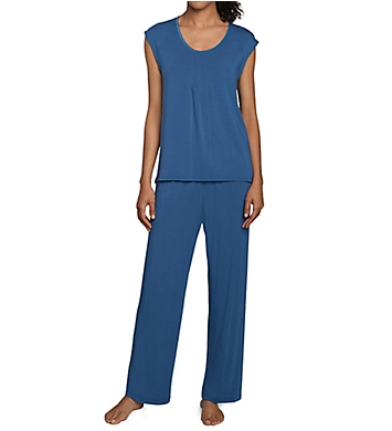 Carole Hochman Midnight Twilight Long PJ Set