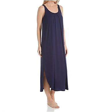 Carole Hochman Midnight Sapphire Maxi Gown with Shelf Bra