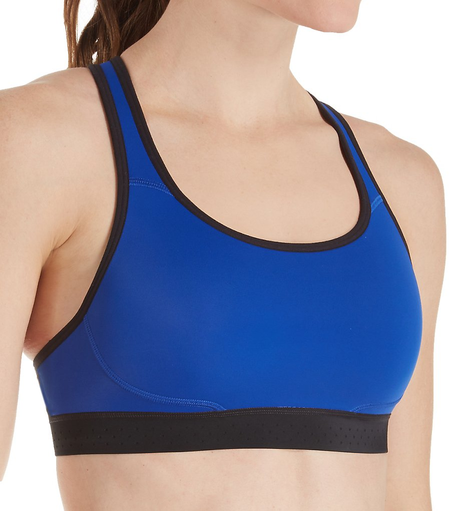65a11e25ff274 Champion B1095 The Absolute Max Support Double Dry Sports Bra (Surf the Web  Black S)