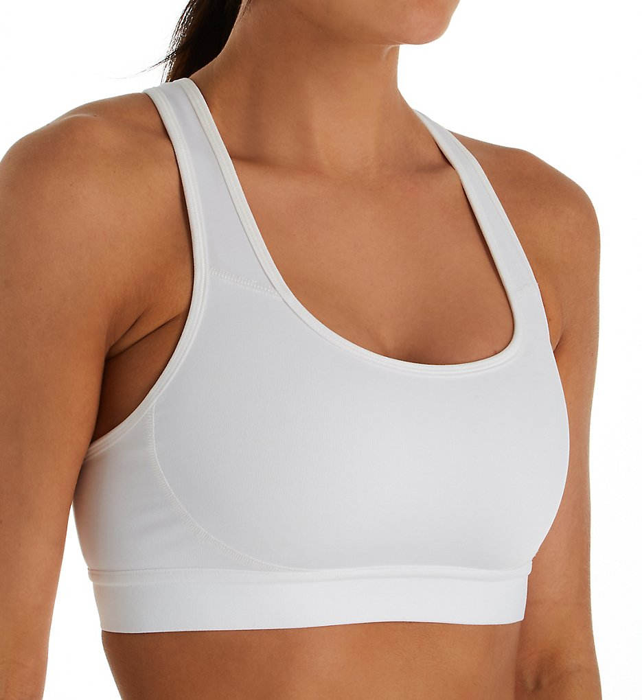 Champion B1251 The Absolute Workout Double Dry Sports Bra (White)