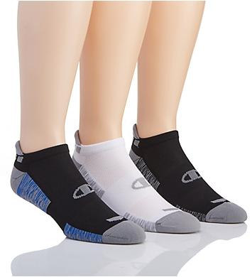 Champion Performance Heel Shield Socks - 3 Pack