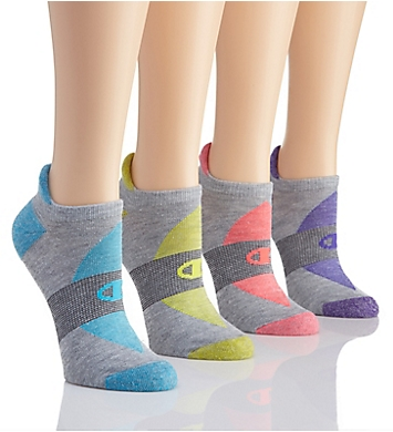 Champion Performance Double Dry Heel Shield Socks - 4 Pair