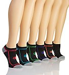 Core Performance Double Dry No Show Socks - 6 Pair