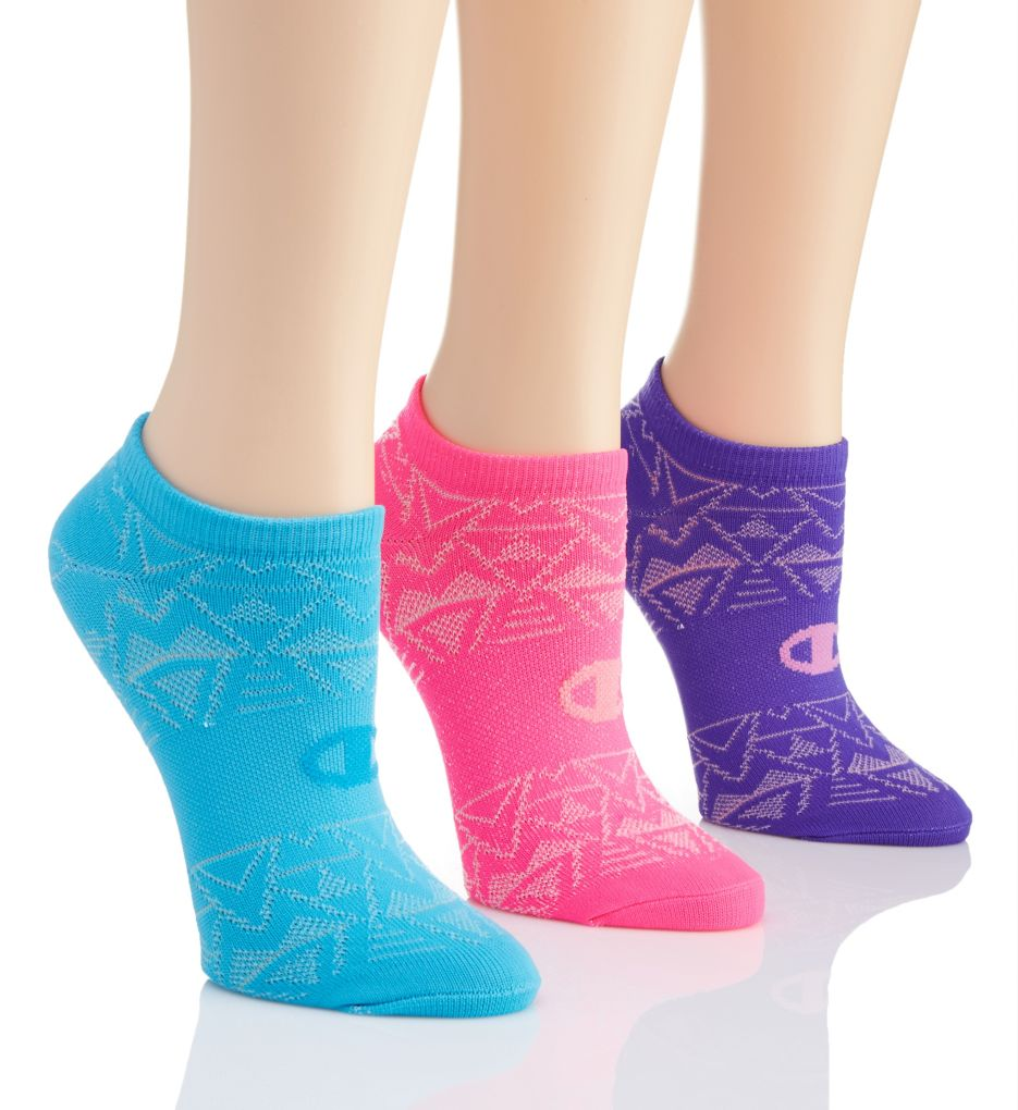 Champion High Performance Double Dry No Show Socks - 3 Pair