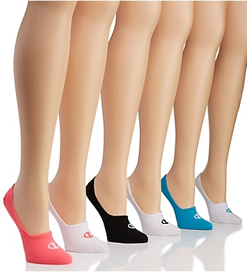 Champion Performance Invisible Liner Socks - 6 Pair