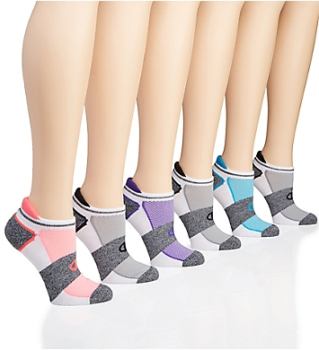 Champion Performance Double Dry Heel Shield Socks - 6 Pairs