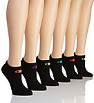 Core Performance Double Dry Low Cut Socks - 6 Pair