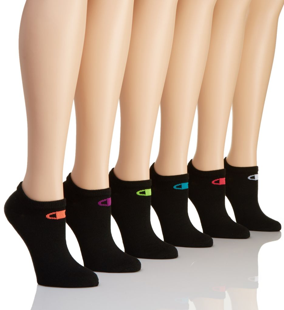 Champion Core Performance Double Dry Low Cut Socks - 6 Pair