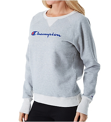 Champion Powerblend Fleece Graphic Pullover