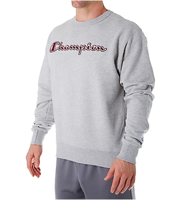 Champion Graphic Powerblend Fleece Crew with Applique