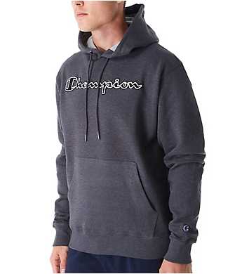 Champion Graphic Powerblend Fleece Hoodie w/Applique